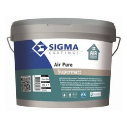 Sigma Air Pure Supermatt wit